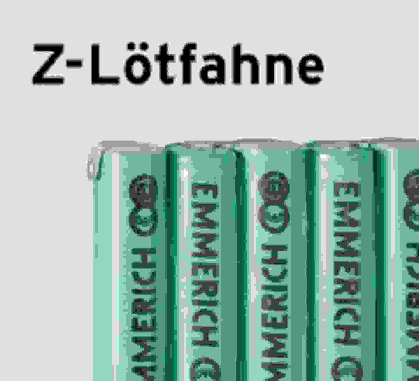 Emmerich Z-Lötfahne-Akkupacks