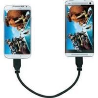 Verbinden Sie zwei Geräte mit dem OTG-Kabel