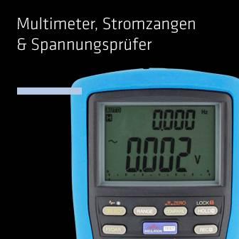 Multimeter, Stromzangen & Spannungsprüfer