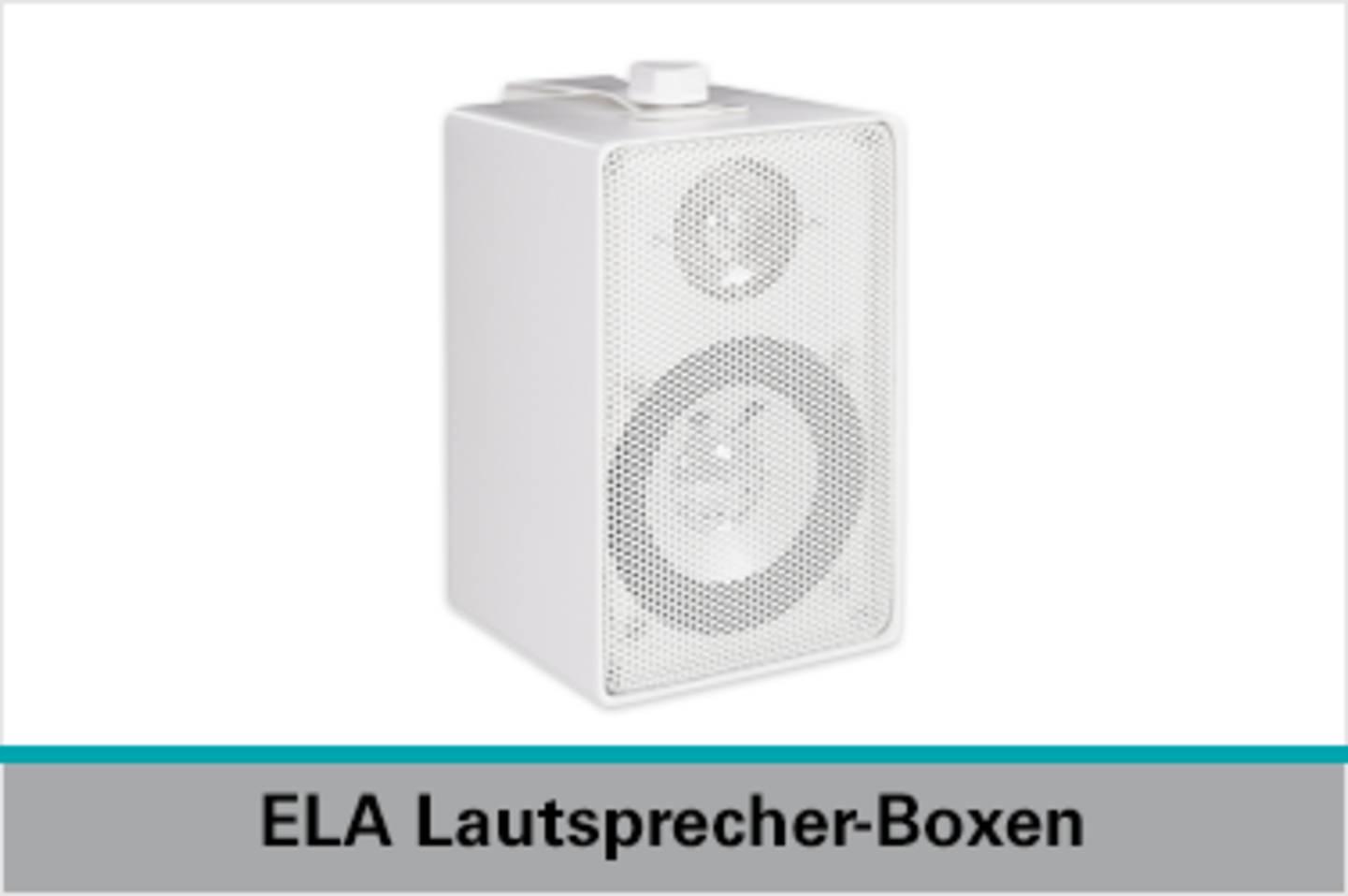Speaka Professional ELA Lautsprecher-Boxen