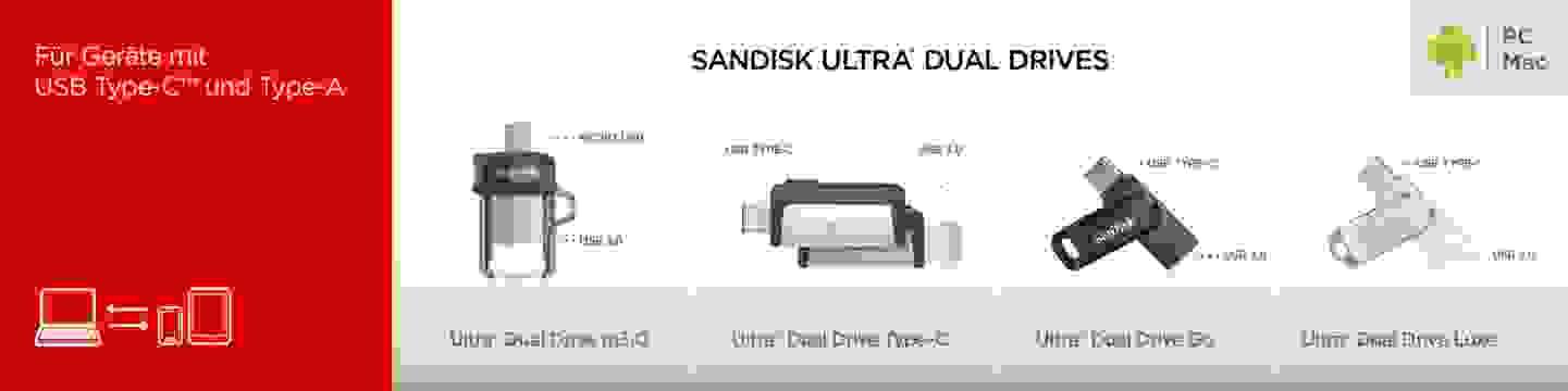 Sandisk Ultra Dual Drives