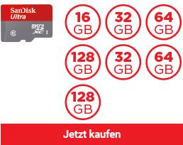 SanDisk Ultra® microSDHC™/ SDXC™ Speicherkarte