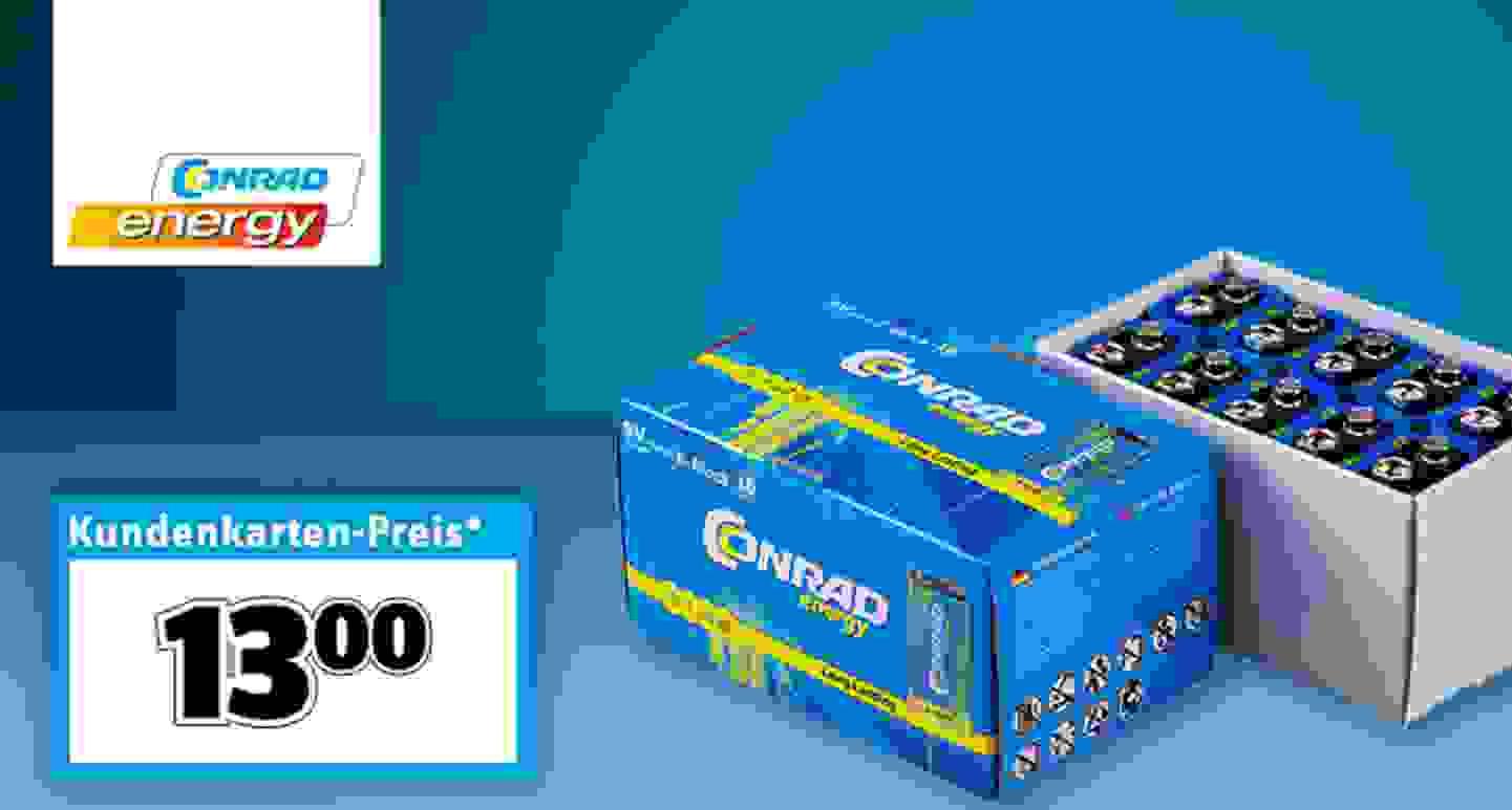 Conrad Energy - Block-Batterien »