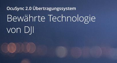 Bewährte Technologie von DJI