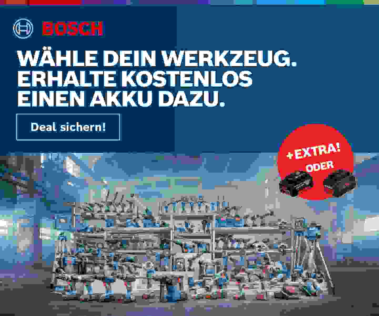 Bosch Professional Promotion