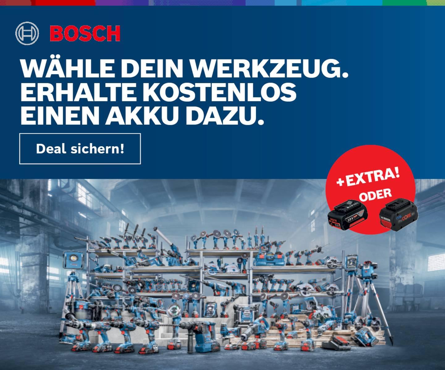Bosch Professional Promotion
