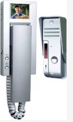 Typical video door intercommunication system