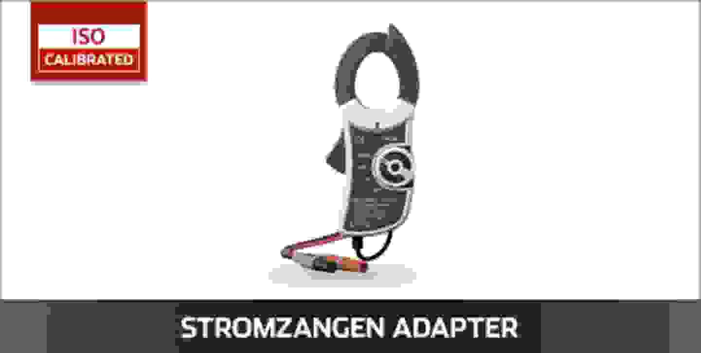 VOLTCRAFT Stromzangenadapter ISO kalibriert