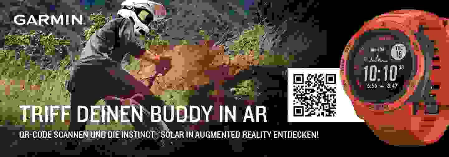 Triff deinen Buddy in AR