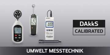 VOLTCRAFT Umwelt Messtechnik DAkkS kalibriert