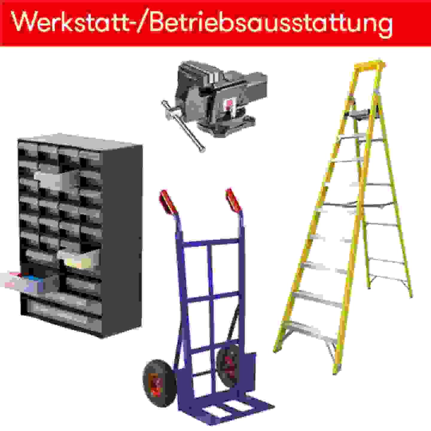 Werkstatt-/Betriebsausstattung