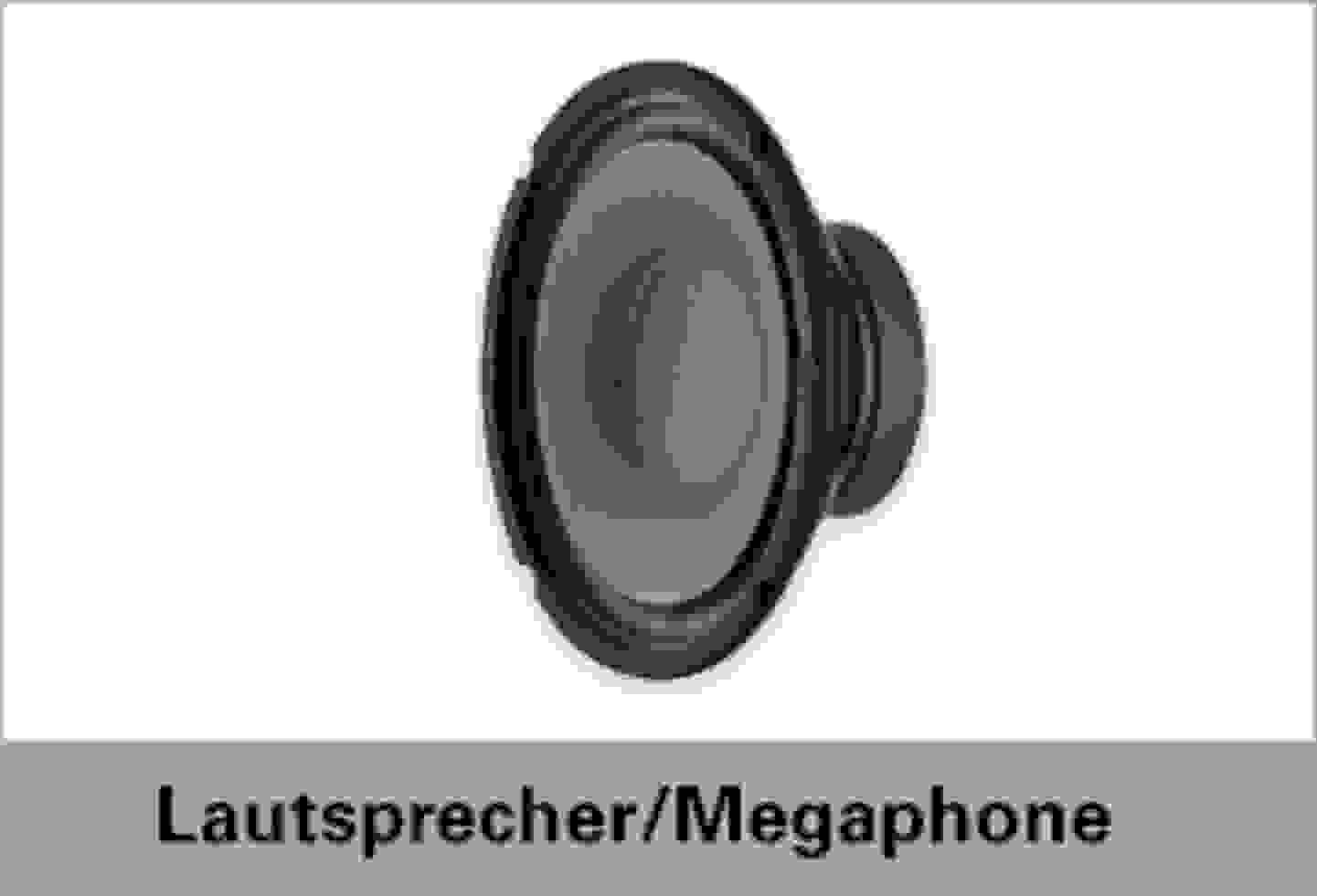Speaka Professional Lautsprecher/Megaphone