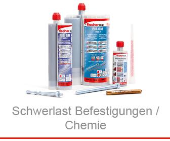 Schwerlast Befestigungen / Chemie