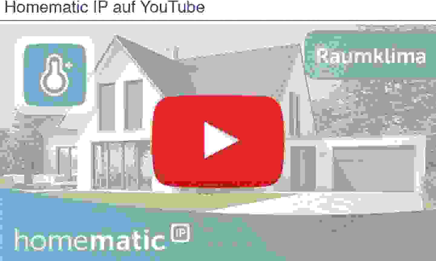 Homematic IP auf Youtube