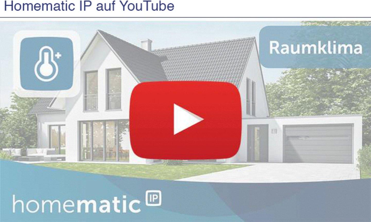 Homematic IP auf Youtube