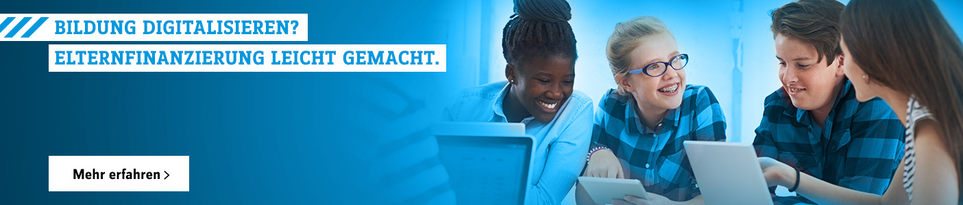 Bildung digitalisieren? Elternfinanzierung leicht gemacht.