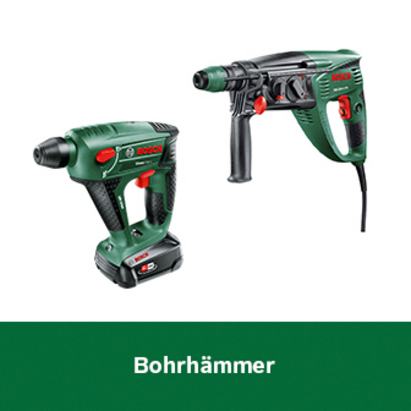 Bosch Bohrhämmer