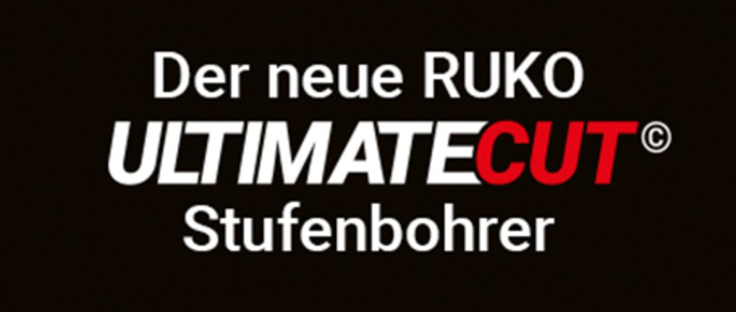 Der neue RUKO UltimateCut Stufenbohrer