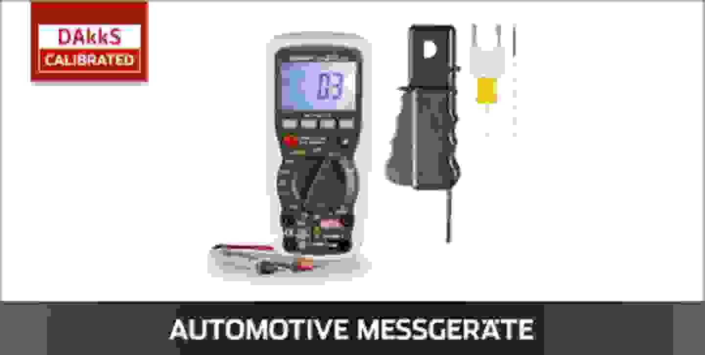VOLTCRAFT Automotive Messgeräte DAkkS kalibriert
