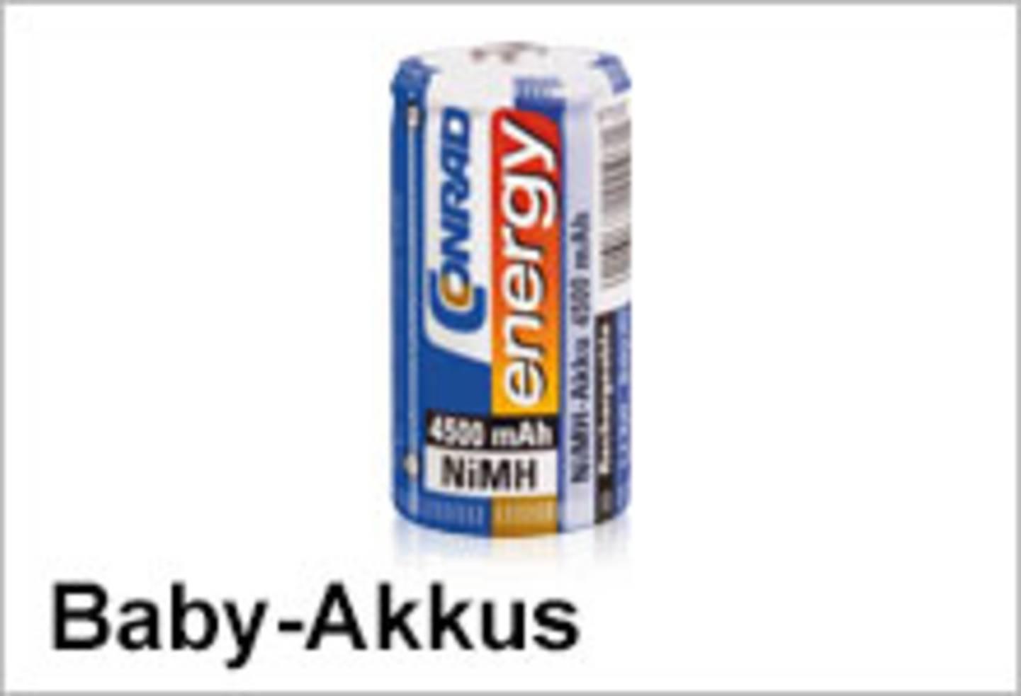 Conrad Energy Baby-Akkus