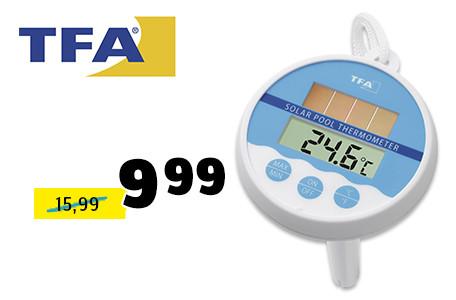 Solar-Schwimmbeckenhermometer