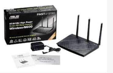 wlan router with equipment
