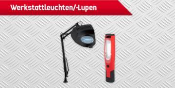 TOOLCRAFT Werkstattleuchten/-Lupen