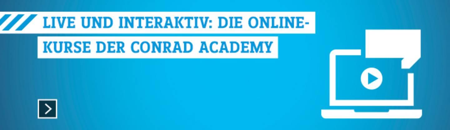 Conrad Academy Online-Kurse