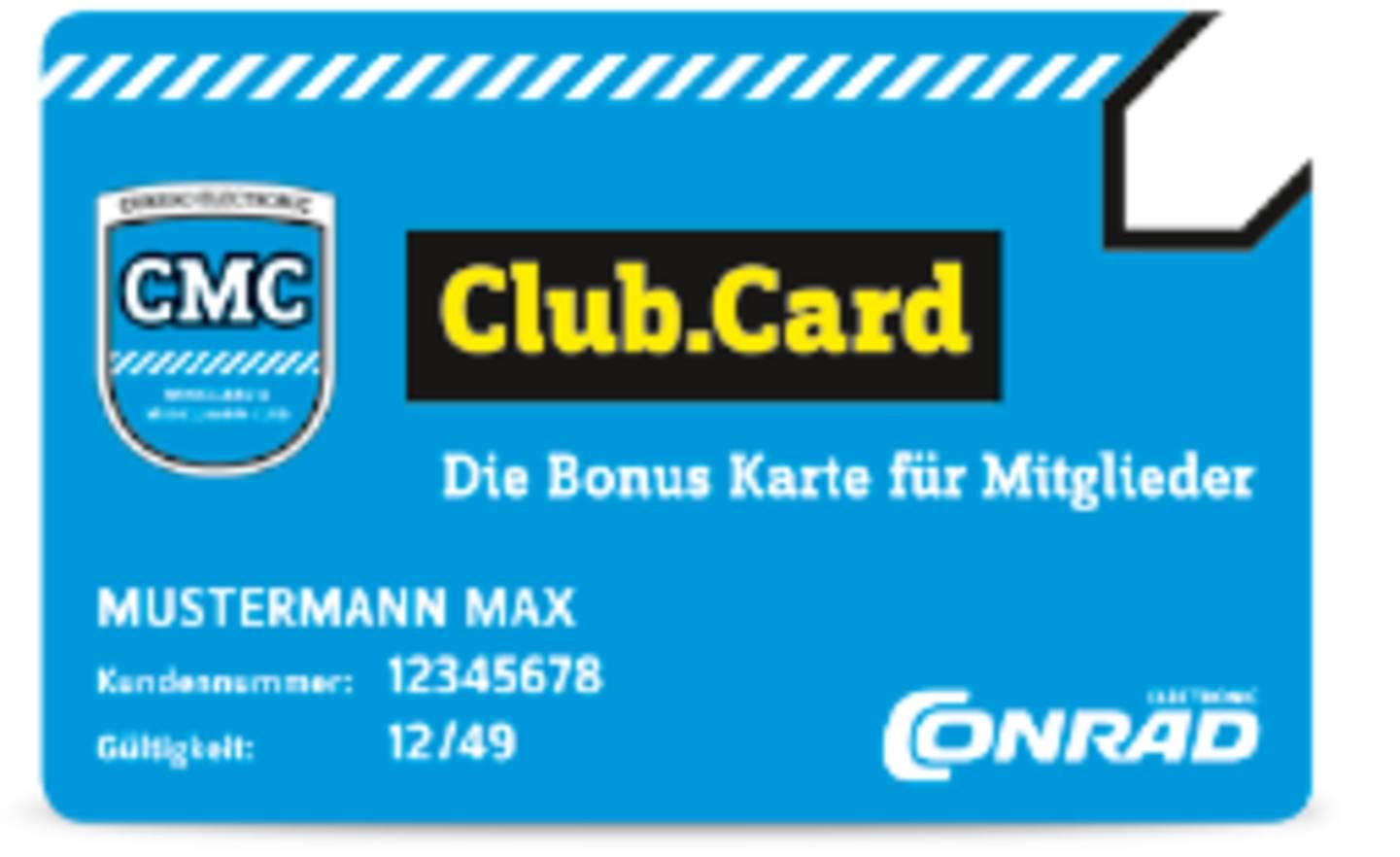 Club.Card mit Zahlungsfunktion