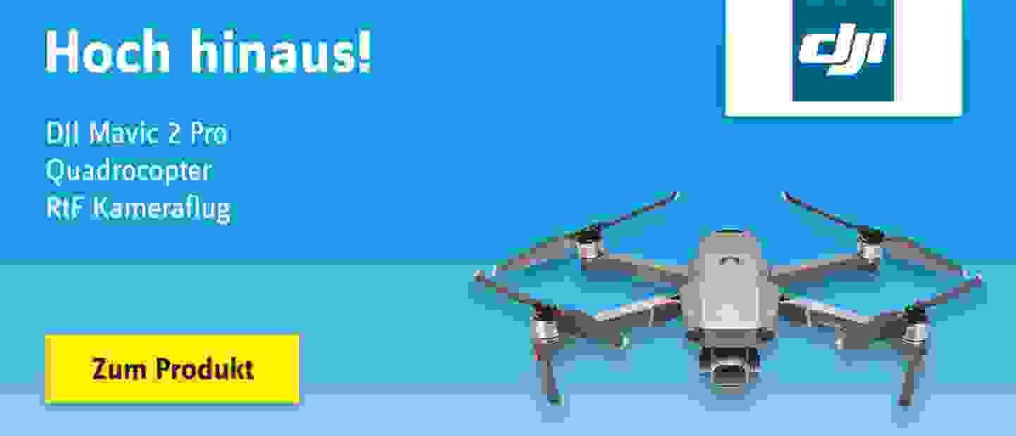 dji - Mavic 2 Pro Quadrocopter RtF Kameraflug