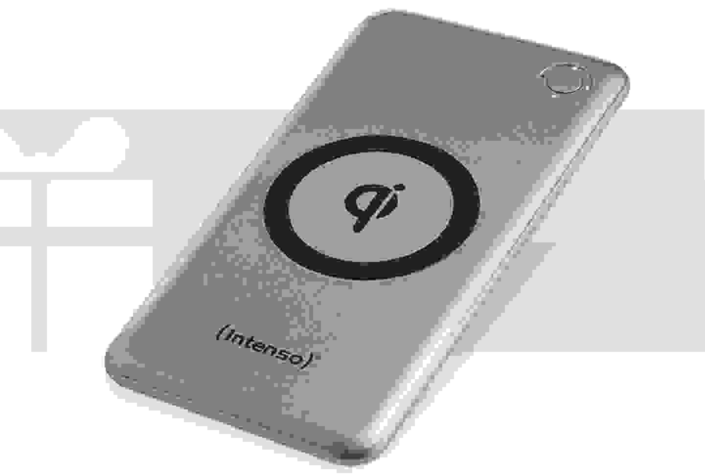 Intenso - Induktions-Powerbank 1000 mA USB Silber