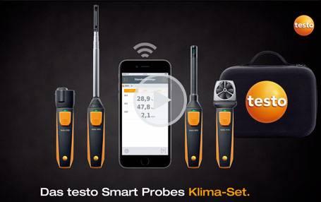Das testo Smart Probes Klima-Set: Produktvideo