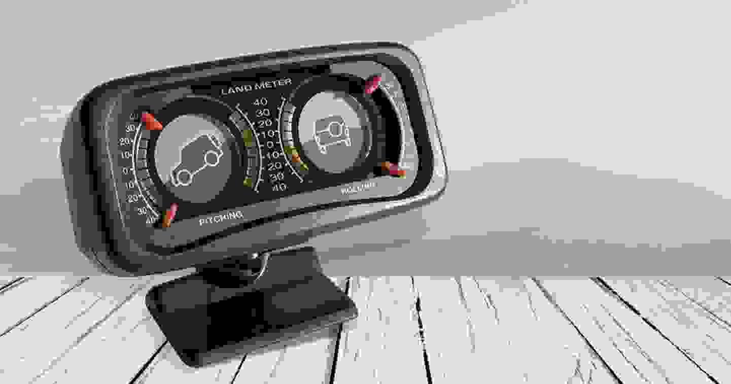 Inclinomètre mécanique 40°