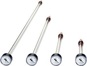 Vier Tensiometer in verschiedenen Grössen