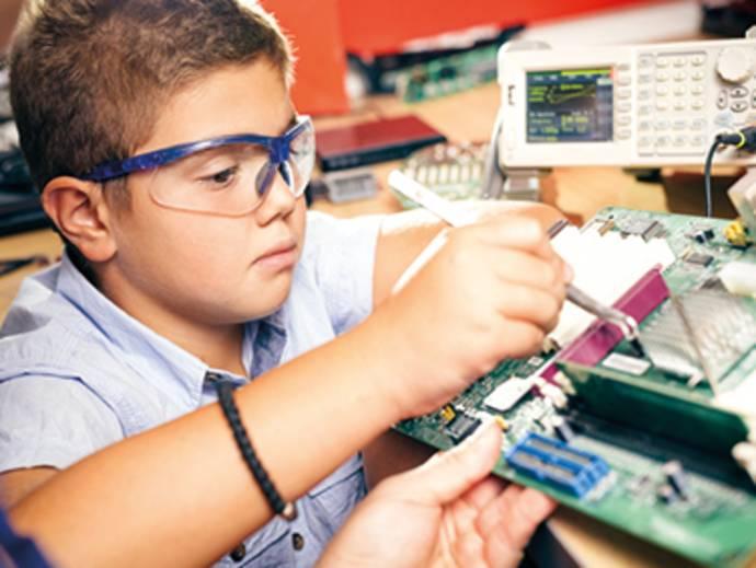 Elektrobaukästen, Elektronikbaukästen