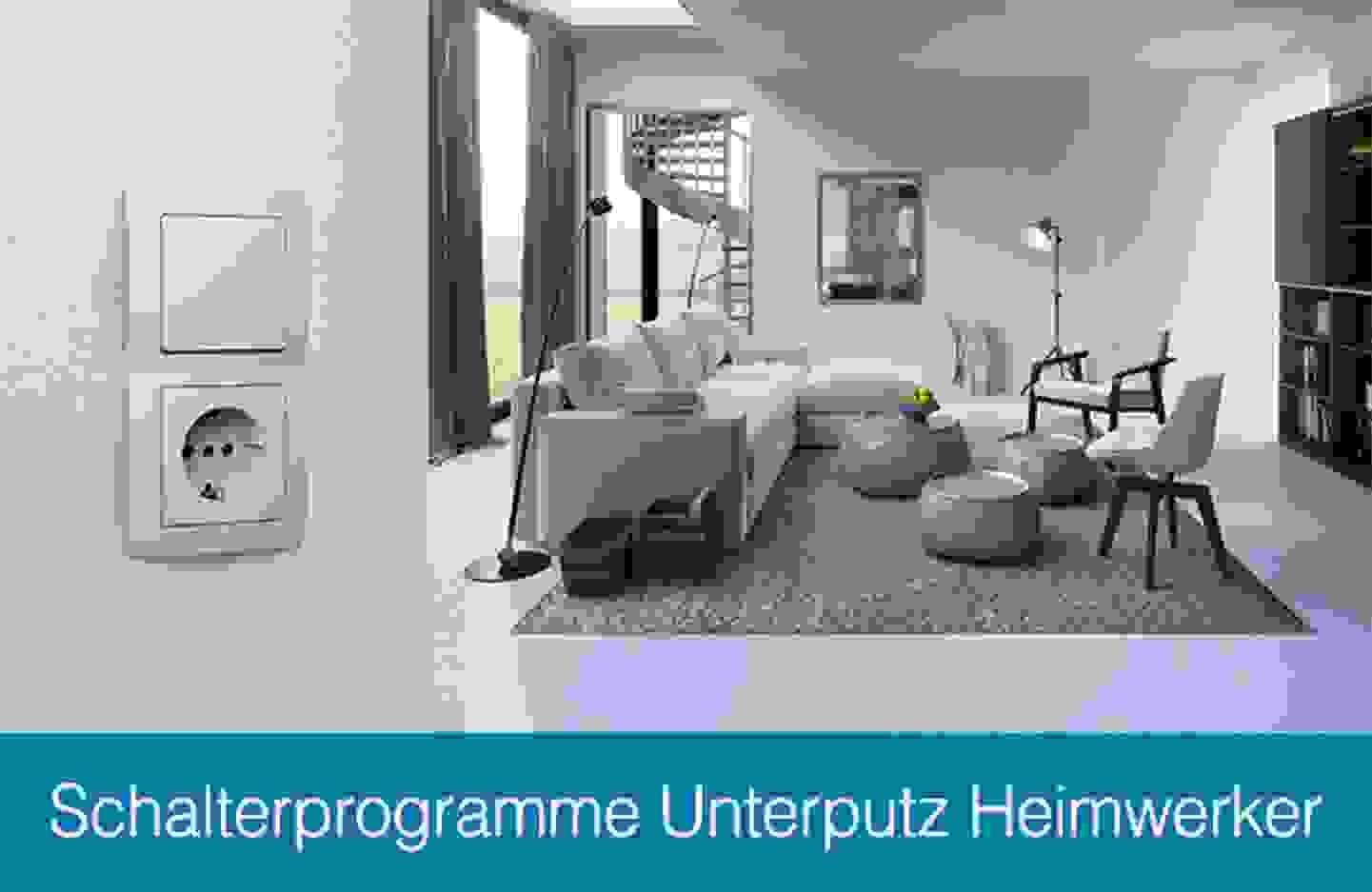 Kopp Schaöterprogramme Unterputz Heimwerker