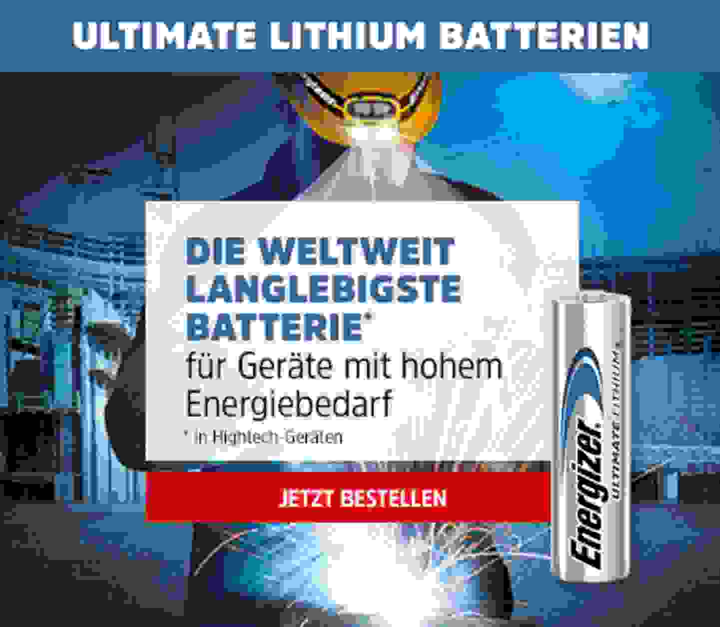 Ultimate Lithium Batterien