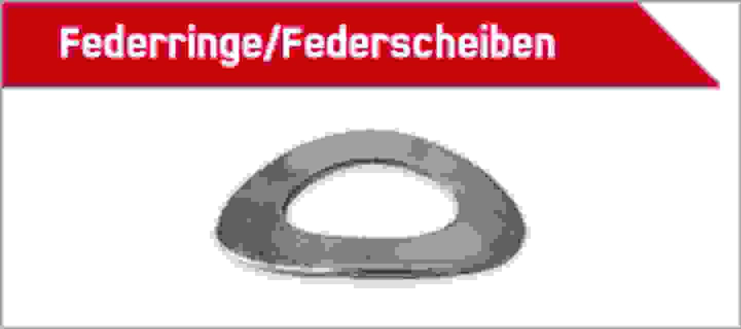 TOOLCRAFT Federringe