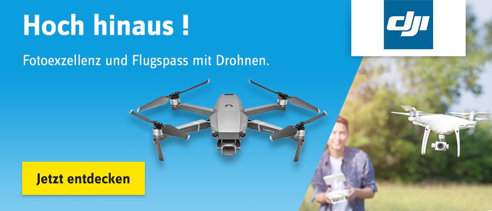 Hoch hinaus! - Drohnen-Highlights und Gewinnspiel »