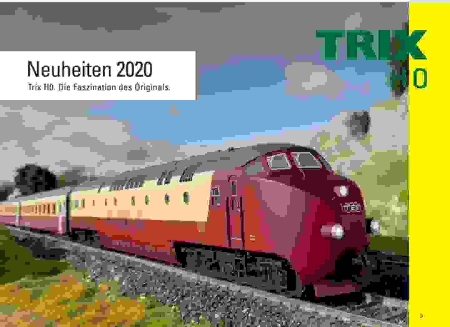 Trix Katalog 2020