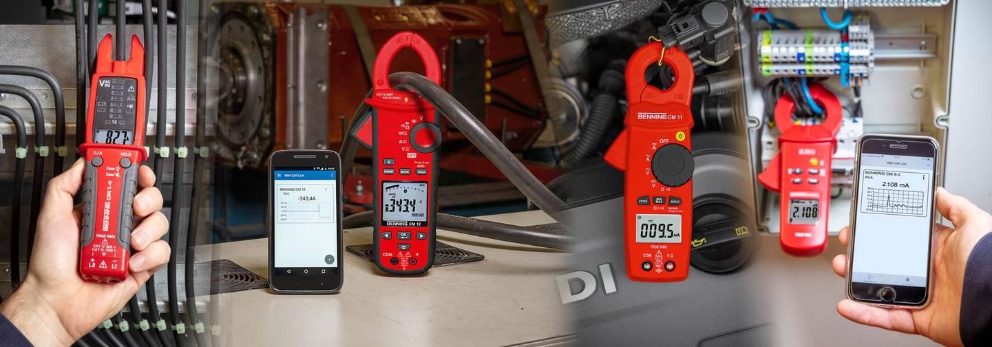 Benning - Digital-Stromzangen