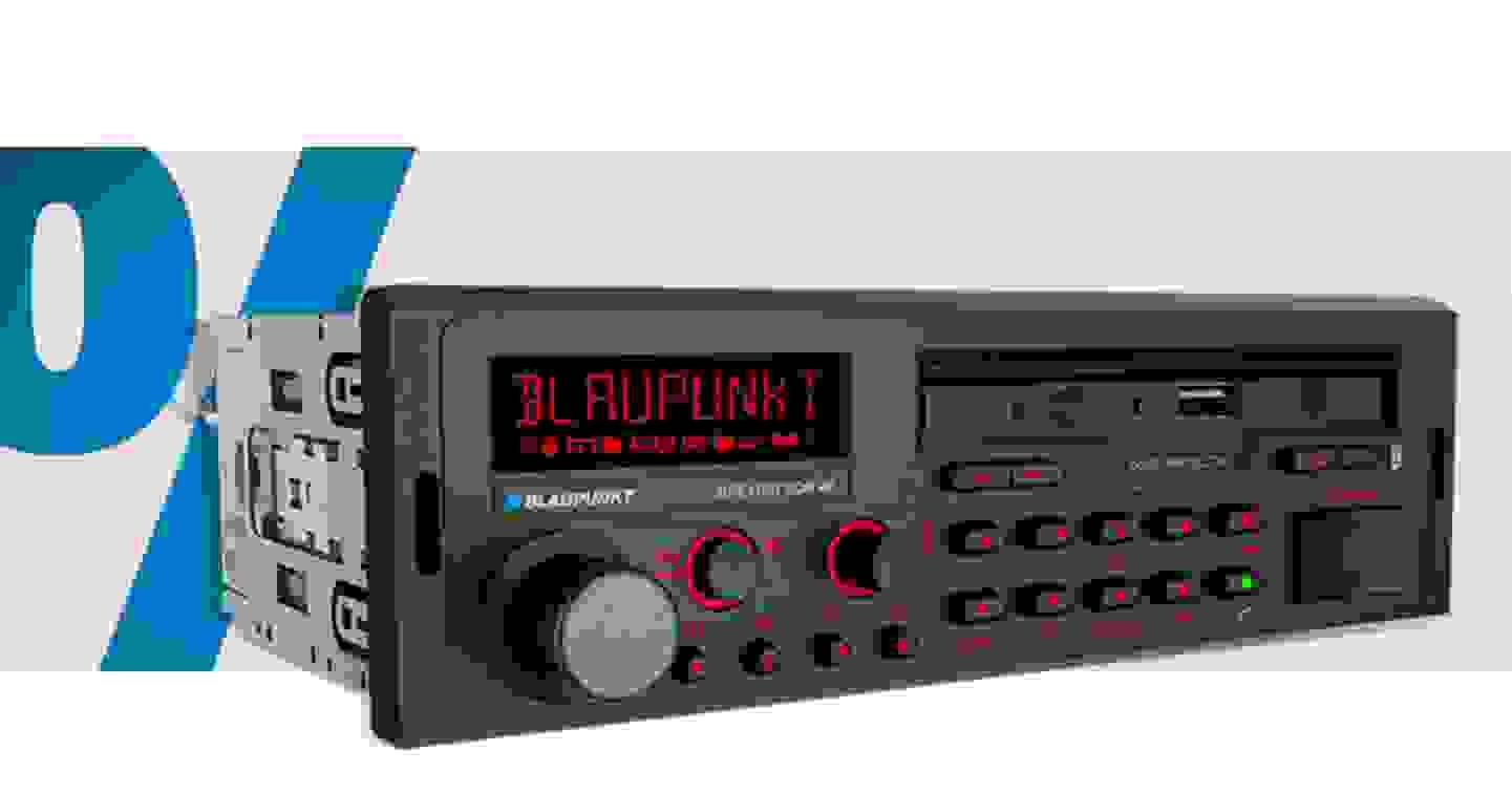 Blaupunkt Bremen SQR 46 DAB Autoradio DAB+ Tuner, Bluetooth®-Freisprecheinrichtung, Retro Design