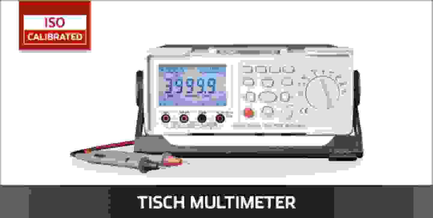 VOLTCRAFT Tischmultimeter ISO kalibriert