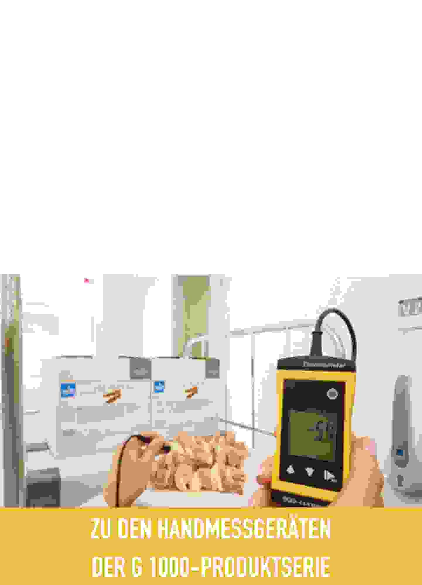 Handmessgeräte der G 1000-Produktserie