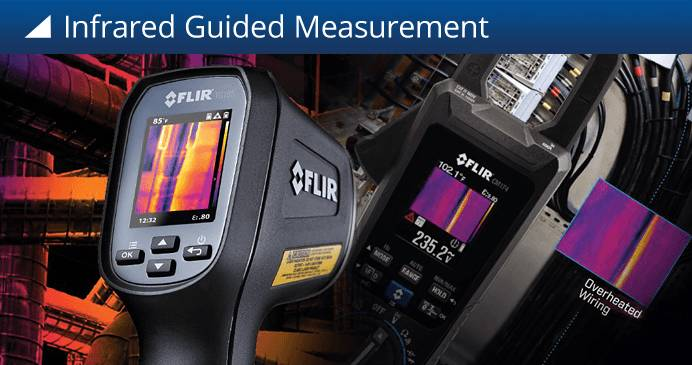 Infrared Guided Measurement