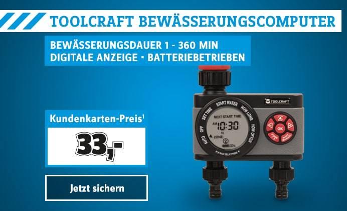 Toolcraft Bewässerungscomputer