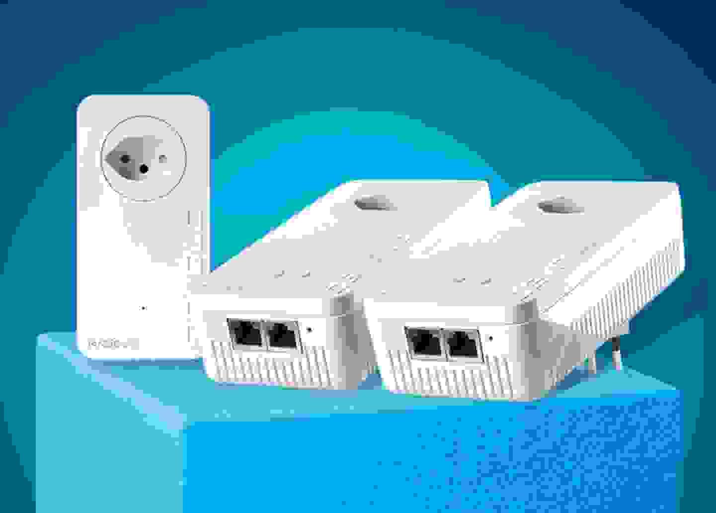 Devolo - Magic 1 WiFi 2-1-3 CH Powerline WLAN Network Kit 1.2 GBit/s »