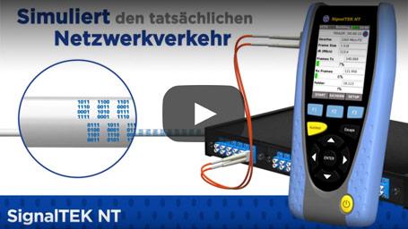 SignalTEK NT – NETZWERK TRANSMISSION-TESTER