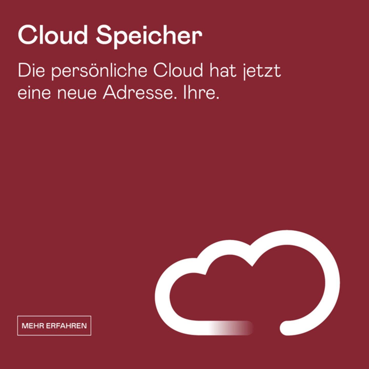Cloud Speicher