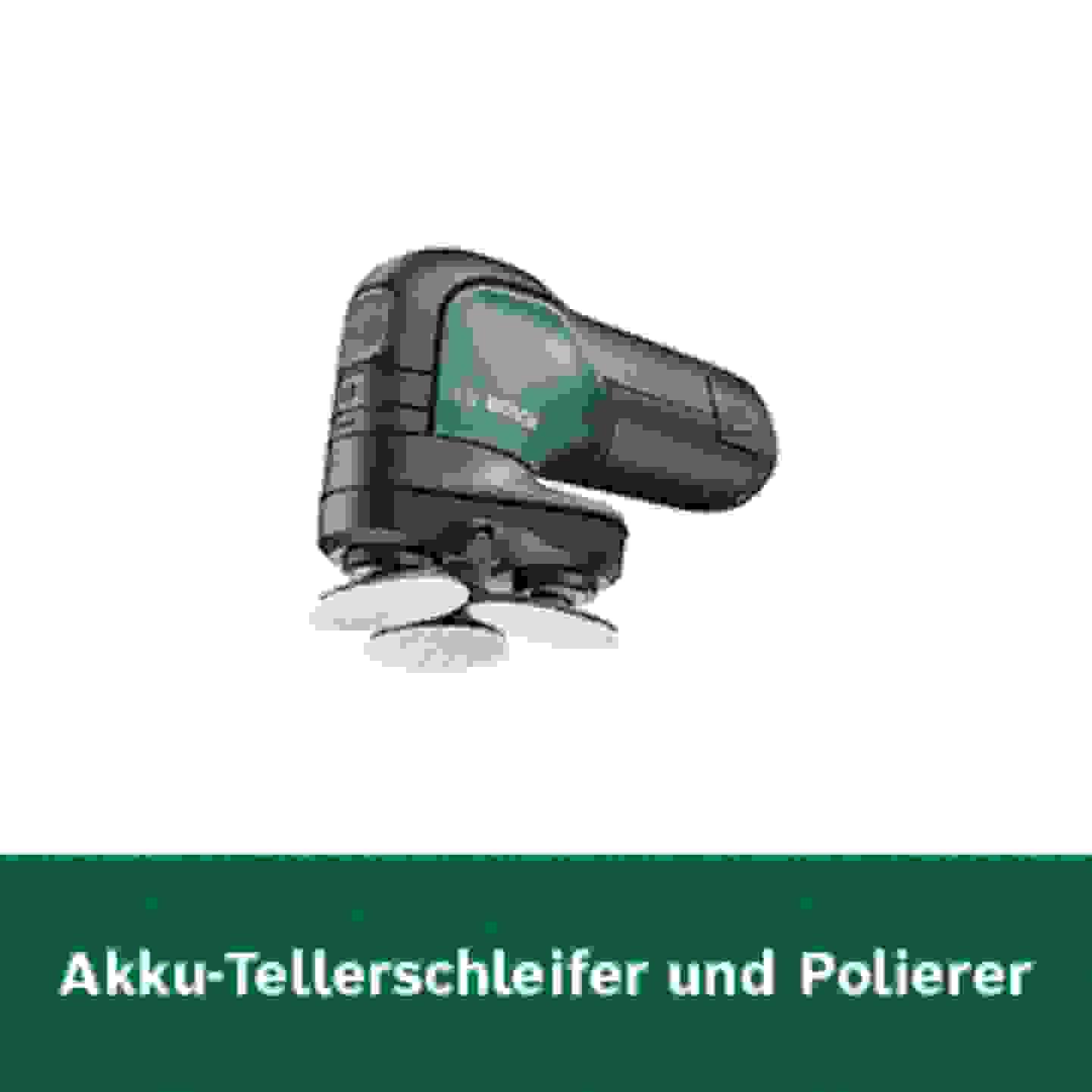 Bosch Akku-Tellerschleifer und Polierer